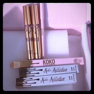 KOKO Kollection Lip Glosses and Lip Liner